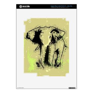 ELEPHANT DECAL FOR iPad 3