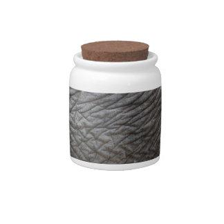 Elephant Skin Candy Jars