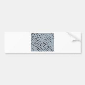 Elephant Skin Pattern Bumper Sticker