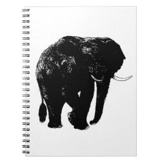 Elephant Spiral Photo Notebook