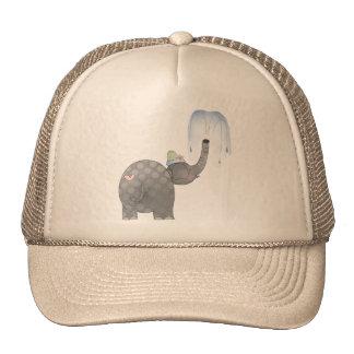 Elephant Spray Trucker Hat