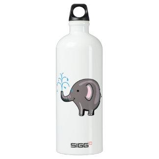 ELEPHANT SPRAYING WATER SIGG TRAVELER 1.0L WATER BOTTLE