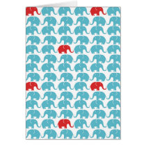 elephant square pattern