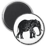 Elephant Stamp Fridge Magnet