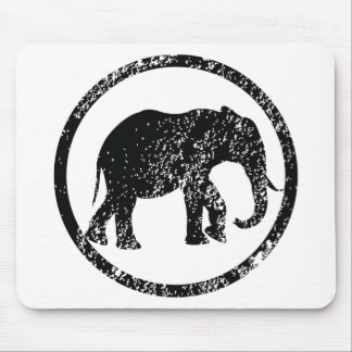 Elephant Stamp Mousepads