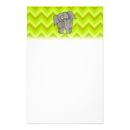 Elephant. Stationery
