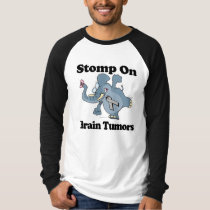 Elephant Stomp On Brain Tumors T-Shirt