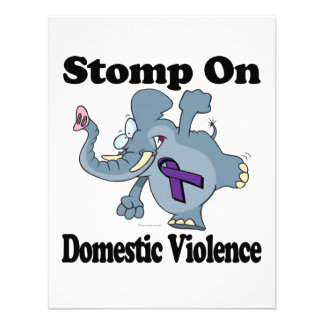 Elephant Stomp On Domestic Violence Announcements