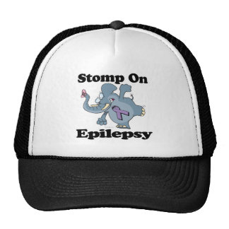 Elephant Stomp On Epilepsy Trucker Hat