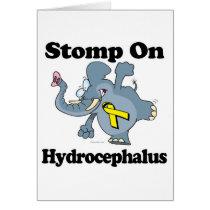 Elephant Stomp On Hydrocephalus Card
