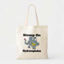 Elephant Stomp On Hydrocephalus Tote Bag
