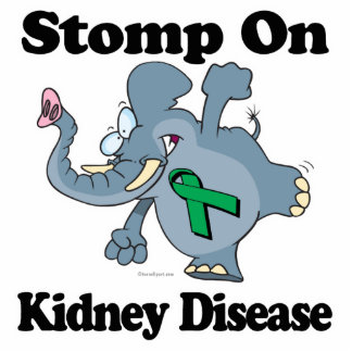 Elephant Stomp On Kidney Disease Cut Out