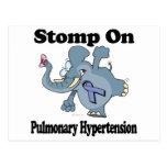 Elephant Stomp On Pulmonary Hypertension Postcard