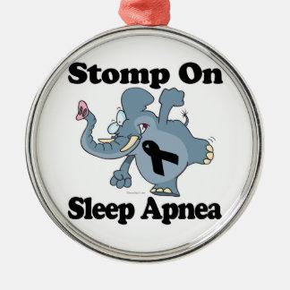 Elephant Stomp On Sleep Apnea Christmas Tree Ornament