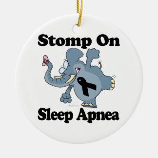 Elephant Stomp On Sleep Apnea Christmas Ornaments