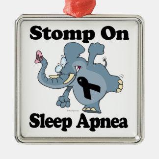 Elephant Stomp On Sleep Apnea Ornament