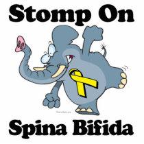 Elephant Stomp On Spina Bifida Statuette