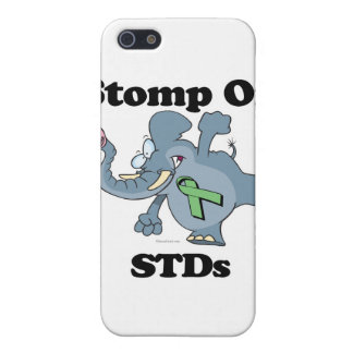 Elephant Stomp On STDs iPhone 5 Case