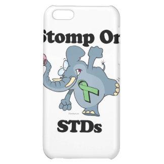 Elephant Stomp On STDs iPhone 5C Case