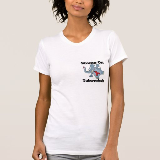 Elephant Stomp On Tuberculosis T Shirt