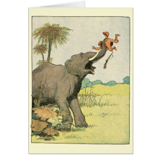 Elephant Story Book Drawing Cards