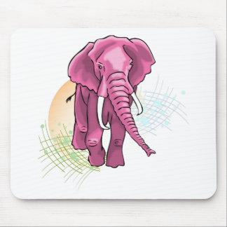 Éléphant subió alfombrilla de raton