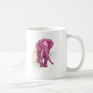 Éléphant subió taza