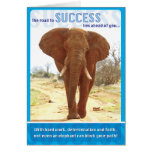 Elephant Success Greeting Card