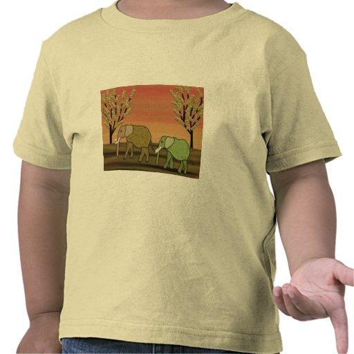 Elephant Sunset T-shirt