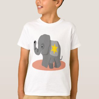 Elephant T-Shirt Here I Am Coming