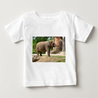 Elephant taking a Dust Bath Baby T-Shirt