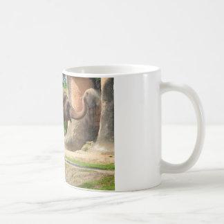 Elephant taking a Dust Bath Coffee Mug