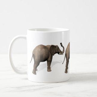 Elephant Taking A Selfie Coffee Mug