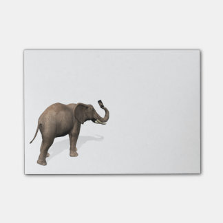 Elephant Taking A Selfie Post-it® Notes