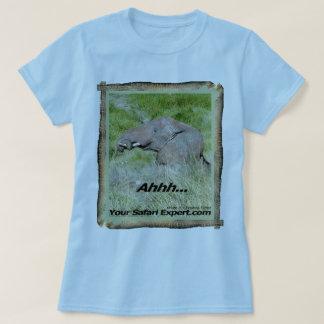 Elephant taking mud bath T-Shirt
