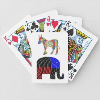 Elephant Task - Politics of Donkeys 2012 Bicycle Playing Cards