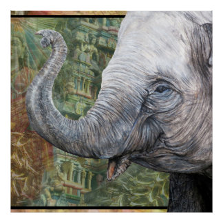 Elephant temple poster