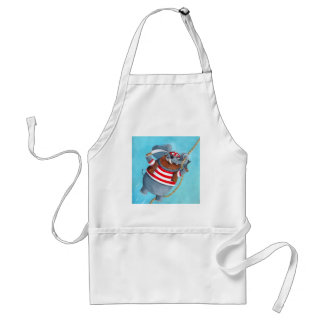 Elephant - The Best Pirate Animal Adult Apron