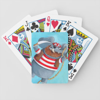 Elephant - The Best Pirate Animal Bicycle Playing Cards