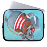 Elephant - The Best Pirate Animal Laptop Sleeves
