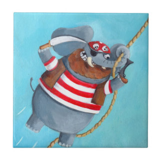 Elephant - The Best Pirate Animal Tiles