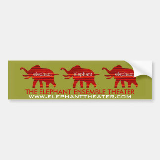 ELEPHANT THEATER BUMPER STICKER