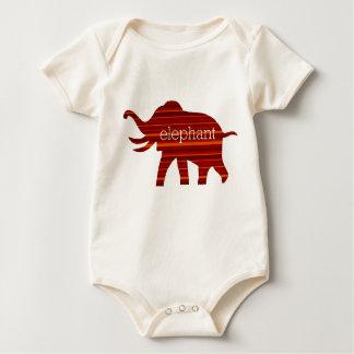 ELEPHANT THEATER LOGO BABY BODYSUIT
