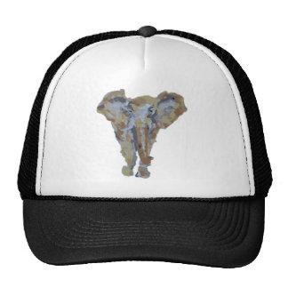 Elephant Themed Design Trucker Hat
