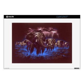 "Elephant Thunder 15"" Laptop Decal"
