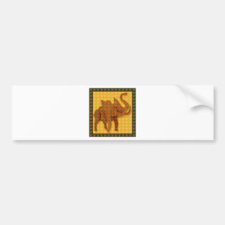 Elephant TILEd GIFTS Discount Event Promo Special Bumper Sticker