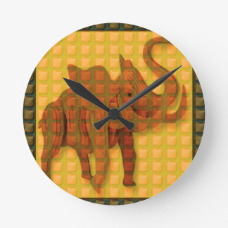 Elephant TILEd GIFTS Discount Event Promo Special Wall Clock