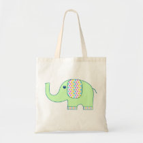 Elephant Tote Bag / Eco Friendly Gift Wrap