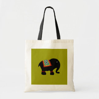 Elephant Tote Budget Tote Bag