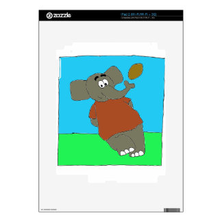Elephant Touch By A Nose iPad 2 Decals